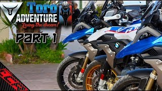 BMW R1200 GS on Tour with Toro Adventure | Vlogger Meetup Part 1