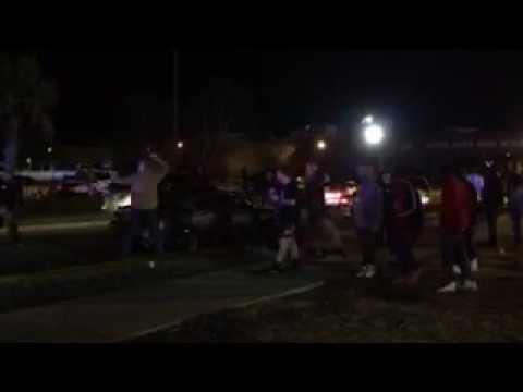 Scene of shooting after South Aiken High School basketball game