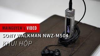 khui hop sony walkman nwz m504 8gb - wwwmainguyenvn