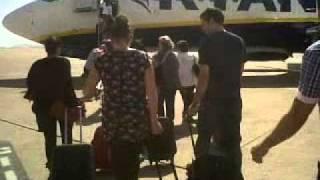 Walking to my Flight from Ibiza to Barcelona Thumbnail