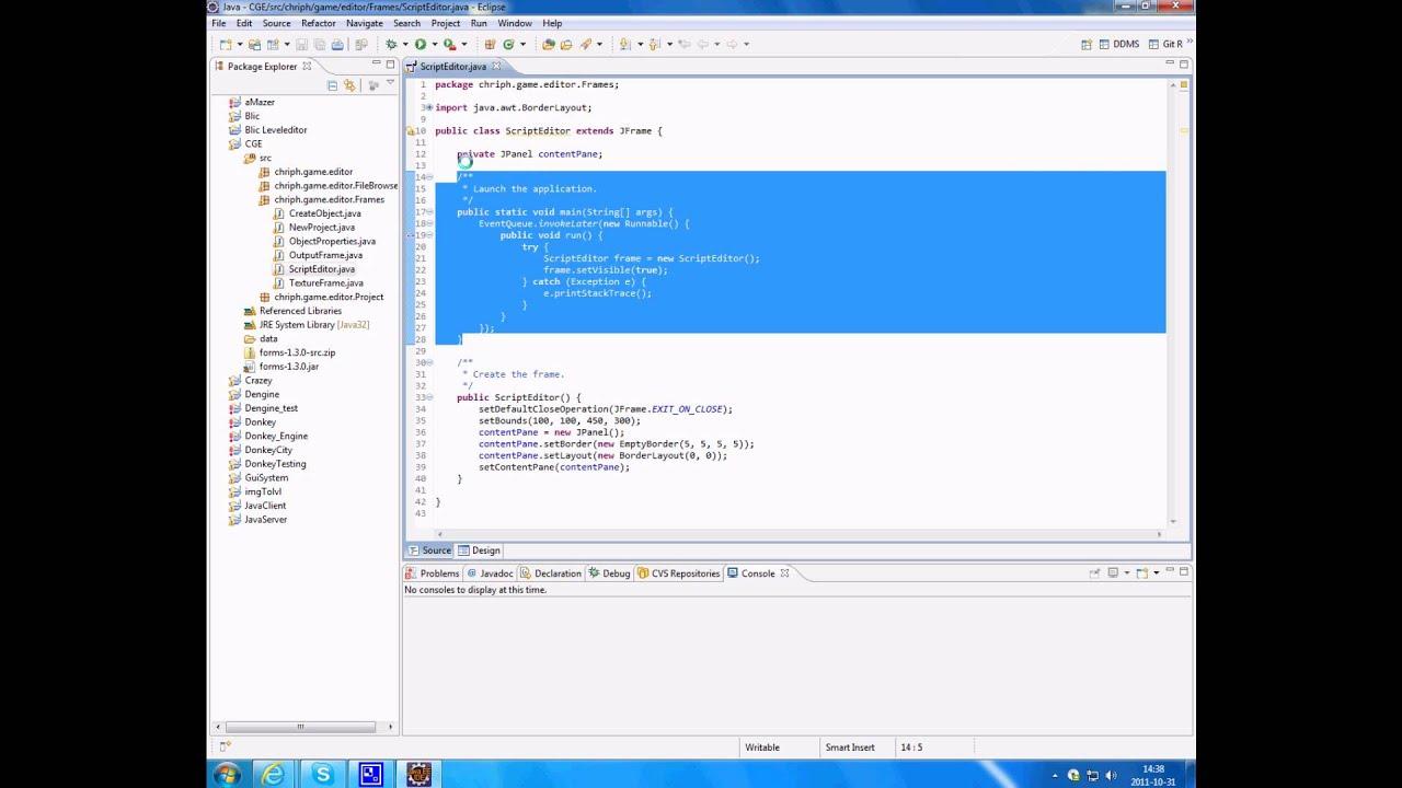 Eclipse Gui Designer Plugin - YouTube