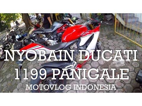 Nyobain Ducati 1199 Panigale Tricolore - Indonesia #motovlog 65