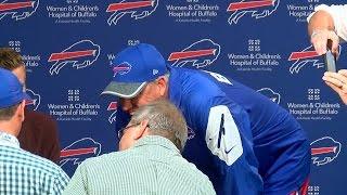 Rex Ryan pranks Patriots wide receiver Julian Edelman