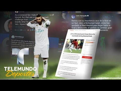 Piden a FIFA que castigue a Sergio Ramos | UEFA Champions League | Telemundo Deportes