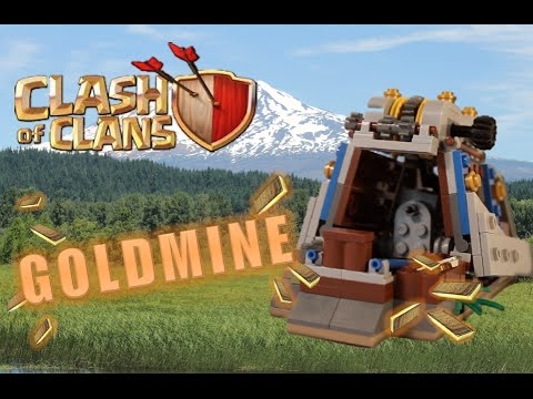 LEGO Clash Of Clans Goldmine (Functional)