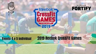 Evento 4 e 5 Individual - 2019 Reebok CrossFit Games By BCC