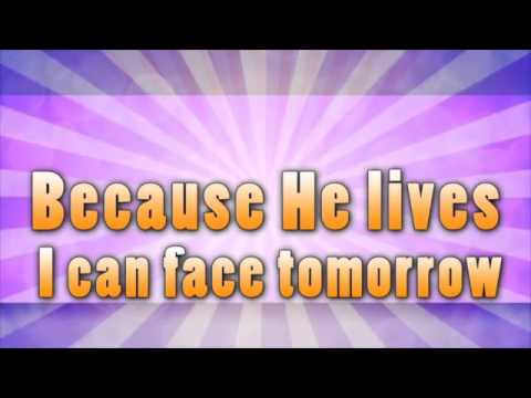 Because He Lives (Amen) with Because He Lives (Lyric Video) | Because He Lives [Simple Kids Easter]