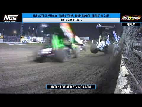 DIRTVISION REPLAYS   River Cities Speedway August 16th, 2019