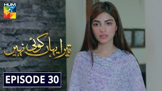Tera Yahan Koi Nahin Episode 30 HUM TV Drama 1 June 2020