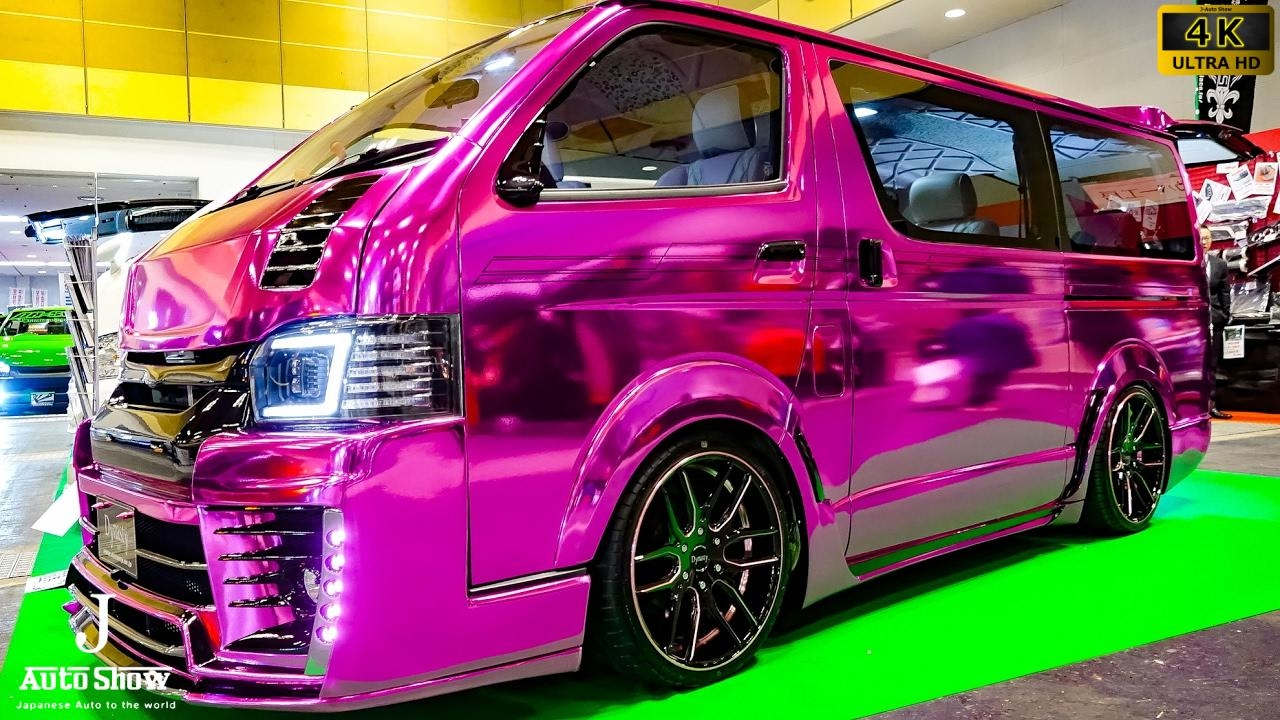 4k Feel Dynasty Toyota Hiace 200 Evo Modified ダイナスティ・200系