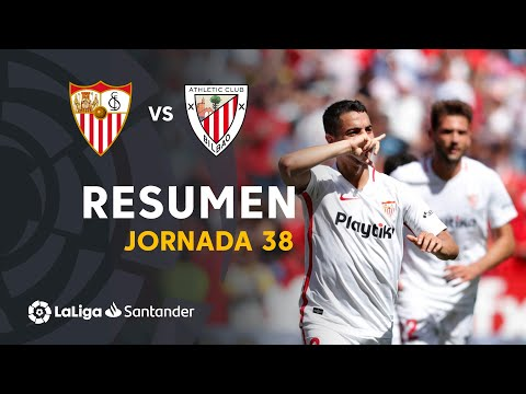 Resumen de Sevilla FC vs Athletic Club (2-0)