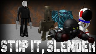 WELCOME TO NOPE! A Roblox Stop It Slender Commentary