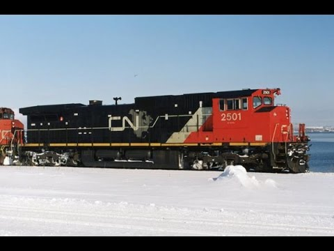 CN's Dash 9 locomotives