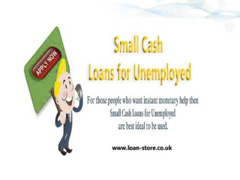 instant text loans for unemployed
