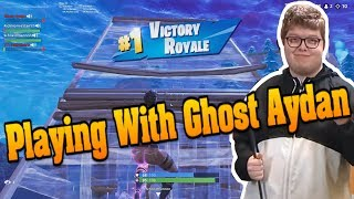 Intense Win With Ghost Aydan (Playing Squads With Aydan) - Rich Homie Stan [Fortnite]