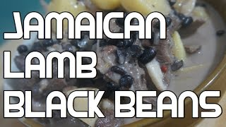 Jamaican Lamb & Black Bean Recipe Video - West Indian Cooking Coconut Milk