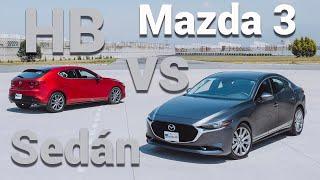 Mazda3 sedán VS Mazda3 hatchback, ¿con cuál te quedas?| Autocosmos Video