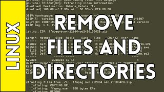 Removing Files and Directories - Introduction to Linux for Absolute Beginners (2016)