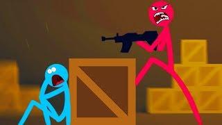 ELE TENTOU SE ESCONDER! 😂 | Stick Fight: The Game #8