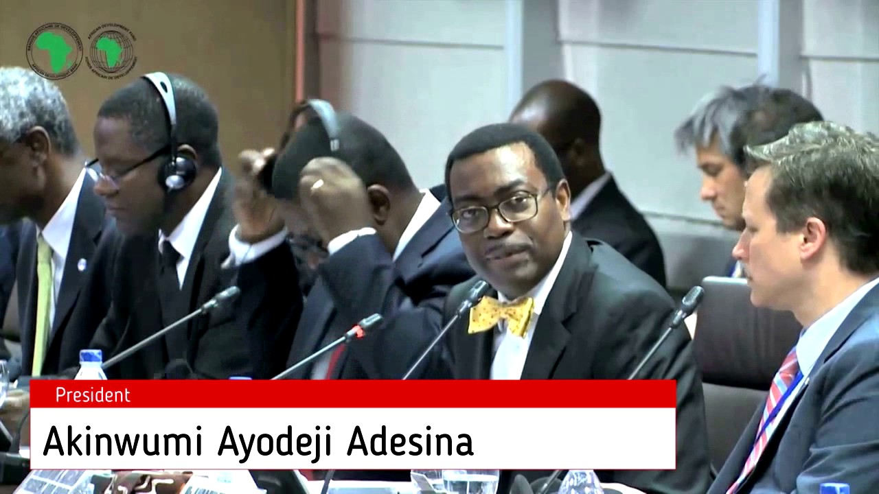 Африканский банк развития - YouTube