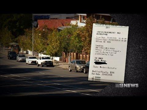 Parking Fines | 9 News Perth