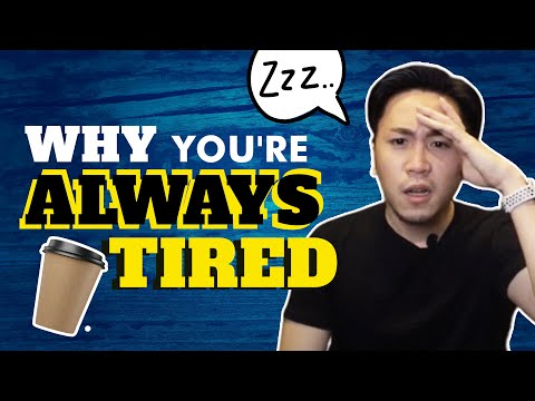 5 Ways To STOP Feeling Tired All The Time