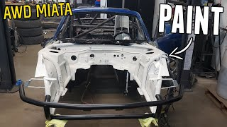 homepage tile video photo for Painting the Engine Bay of the AWD Miata!