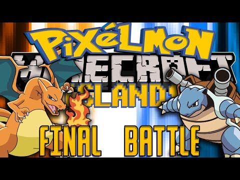 Minecraft: Pixelmon Island (Pokemon Mod) FINALE BATTLE!