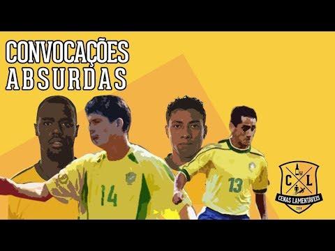 TAISON NA COPA É UM ABSURDO? | Piores convocações da Seleção Brasileira em Copas