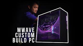 Gambar cover Mwave Custom Build PC featuring Intel Core i9 9900k CPU & RTX 2080 Ti GPU