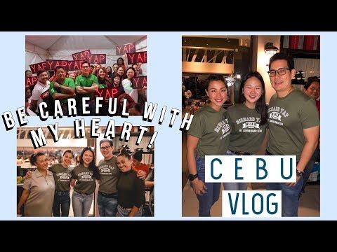 CEBU: BE CAREFUL WITH MY HEART REUNION + CAMPAIGNING! | ASHLEY SANDRINE