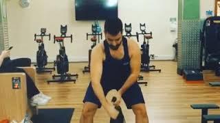 Bulgarian Bag Workout.