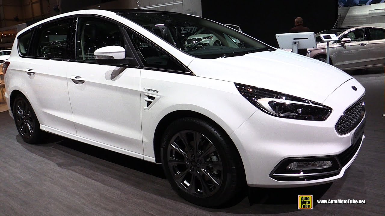 2016 ford s max vignale exterior and interior walkaround. Black Bedroom Furniture Sets. Home Design Ideas