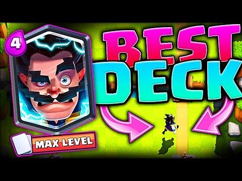 Thumbnail: BEST ELECTRO WIZARD DECKS • Clash Royale • WIN A FREE ELECTRO WIZARD