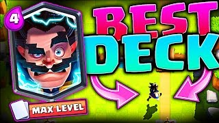 BEST ELECTRO WIZARD DECKS • Clash Royale • WIN A FREE ELECTRO WIZARD