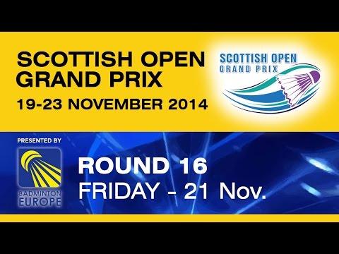 R16 - WS - Sabrina JAQUET vs Tanapat PISITPONG - Scottish Open Grand Prix 2014