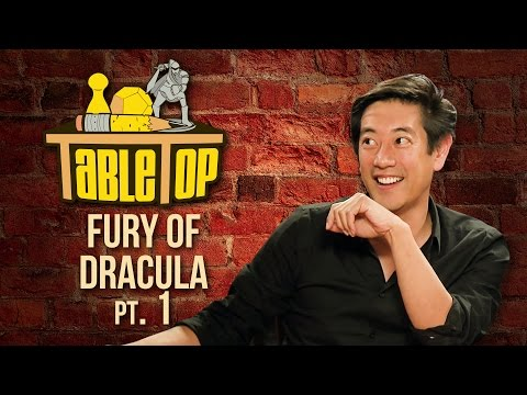 TableTop: Wil Wheaton Plays The Fury of Dracula w Grant Imahara, Amy Okuda, & Ify Nwadiwe! Pt. 1