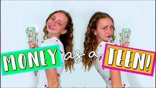 How to ACTUALLY MAKE MONEY as a TEEN!  // 5 easy ways I made money age 12-16! - CreativeAmalia