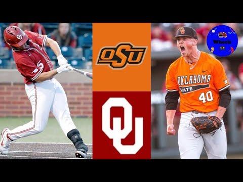Download Oklahoma State vs Oklahoma Highlights (AMAZING GAME!)   2021 College Baseball Highlights