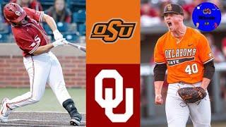 Oklahoma State Vs Oklahoma Highlights (AMAZING GAME!) | 2021 College Baseball Highlights