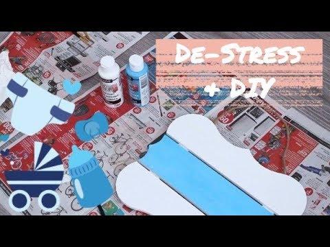 De-Stress & DIY | Episode 1: Nursery Name Sign