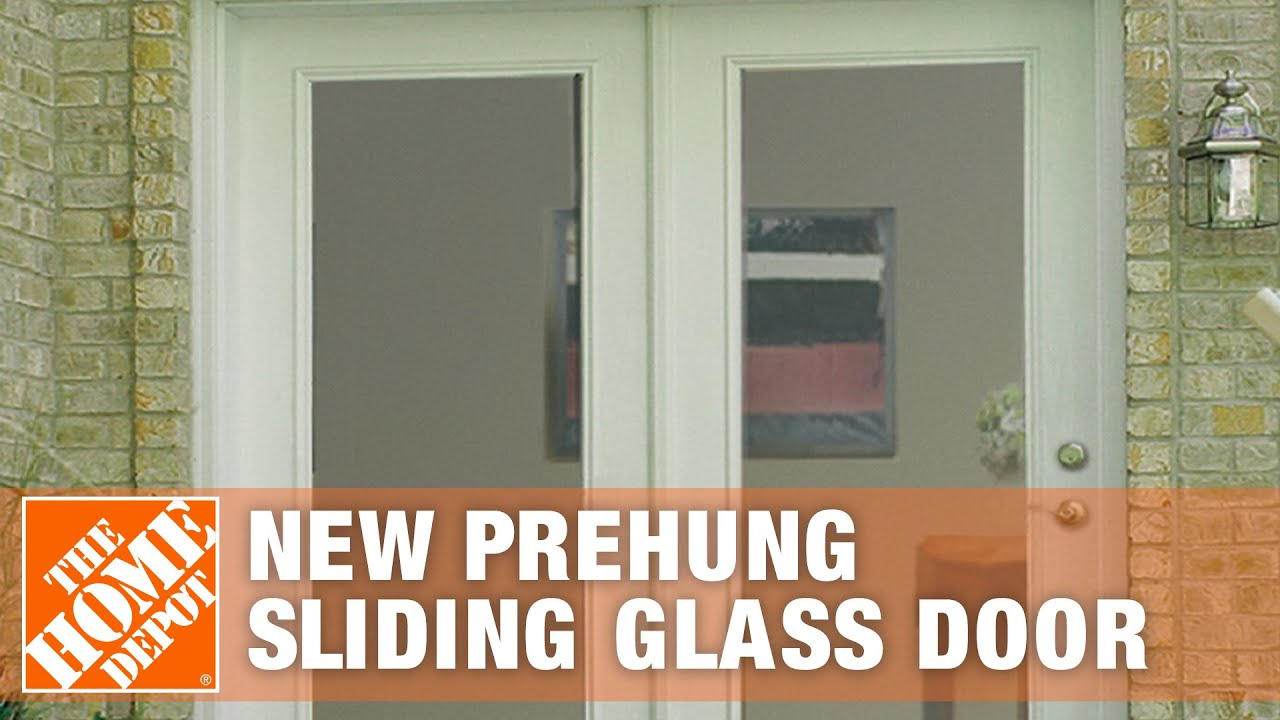 how to measure for a new prehung sliding glass door youtube