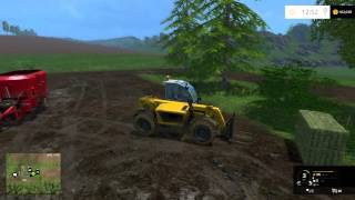 farming simulator 15 tutorials how to feeding the cows