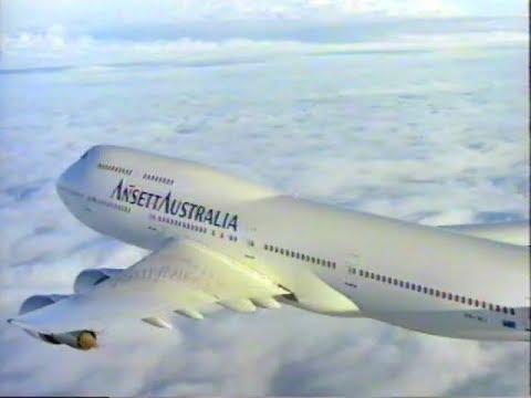 Ansett Australia Airshow - Boarding Video