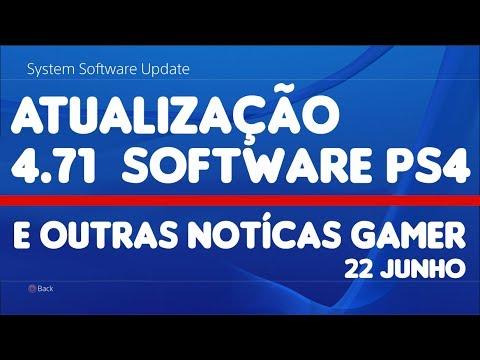 NOVA atualização Software 4.71 PS4 / Empolguei mais para Skull and Bones / e mais
