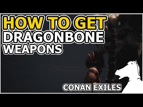 HOW TO GET Dragonbone Weapons OR Where to find Dragonbones