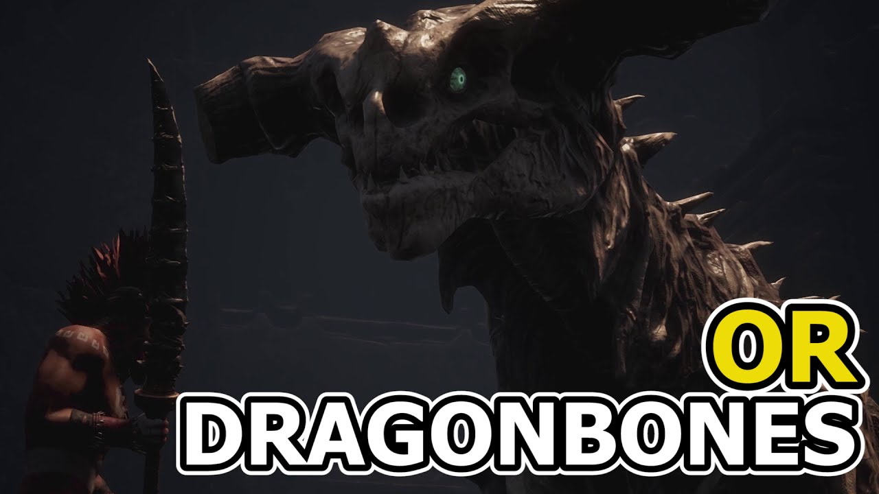 How To Get Dragonbone Weapons Or Where To Find Dragonbones? | Conan Exiles   Just Horse 02:30 HD