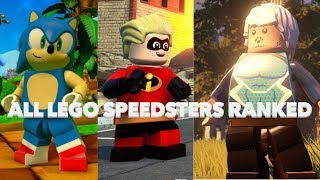 Top 10 Fastest LEGO Speedsters!!