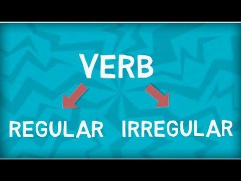 Verbs | Regular Verbs | Irregular Verbs | Differences | How to Identity?