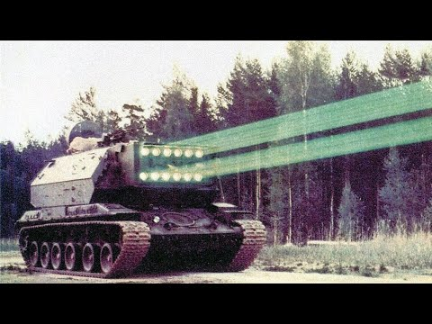 The Laser Tank - 5 Military Weapons Invented Before 1980